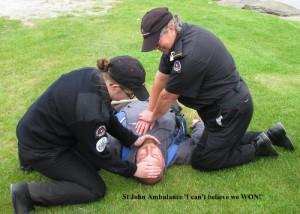 St John Ambulance 'I can't believe we WON!'