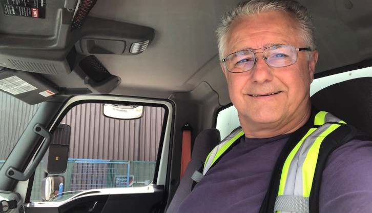 Our National Trucking Week Driver, Phil Heaphy