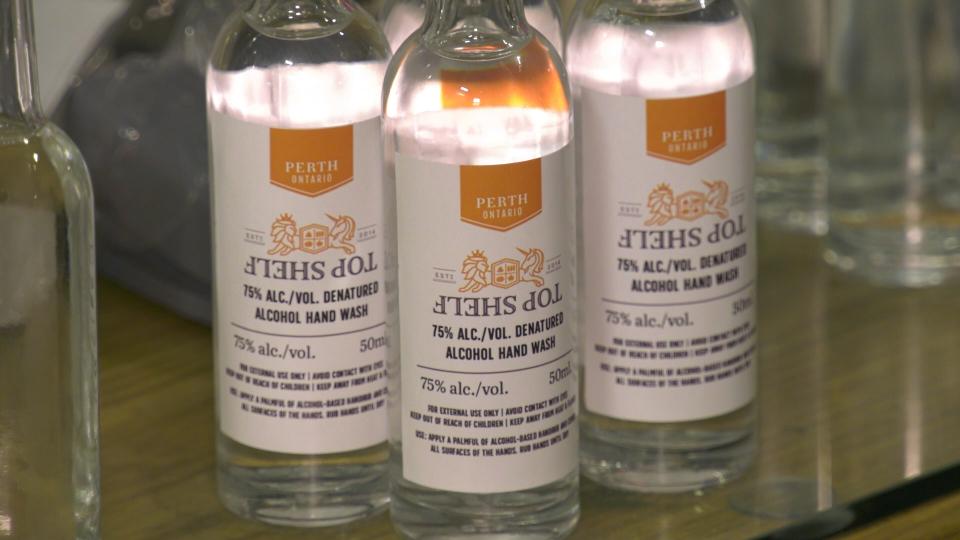 HAND-SANITIZER- Top Shelf Distillers Perth, ON
