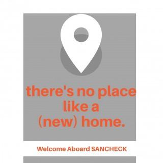 Welcome Aboard SANCHECK Grey & Orange