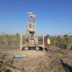 Borehole Drilling Starts